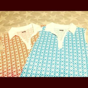 Two Basic Edition Patterned Tops